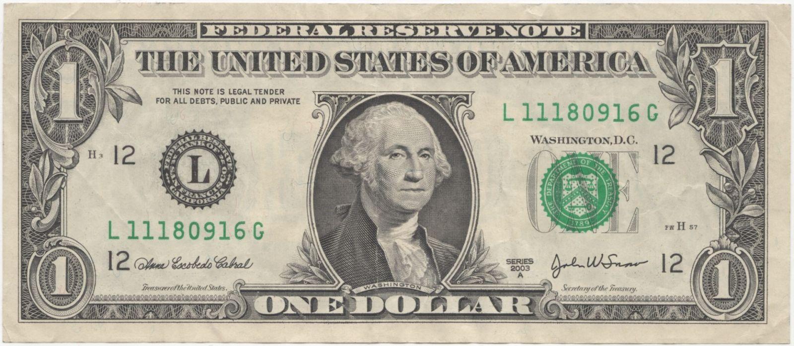 Один доллар