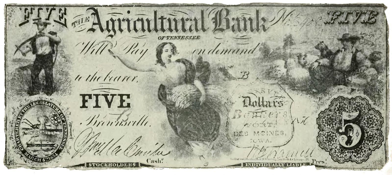 Первый бумажный доллар
